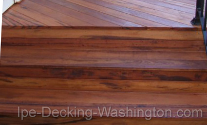 Tigerwood Decking in Washington